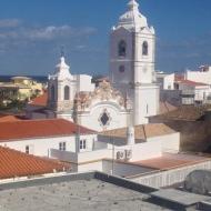 Aussicht von der Dachterrasse des Hostels